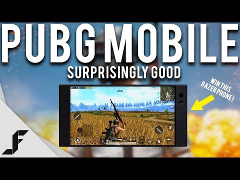 PUBG MOBILE - Surprisingly Good