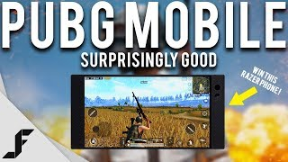 PUBG MOBILE - Surprisingly Good ( Win a Razer Phone )