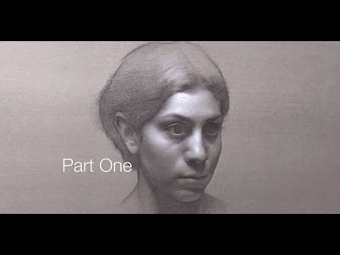 Portrait Drawing: Part 1, Blocking In
