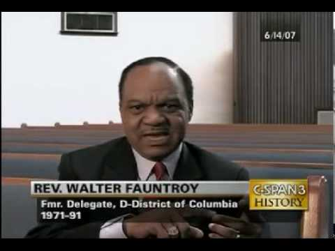 Walter Fauntroy - NAACP - THIS Man Compares The Tea Party To KKK