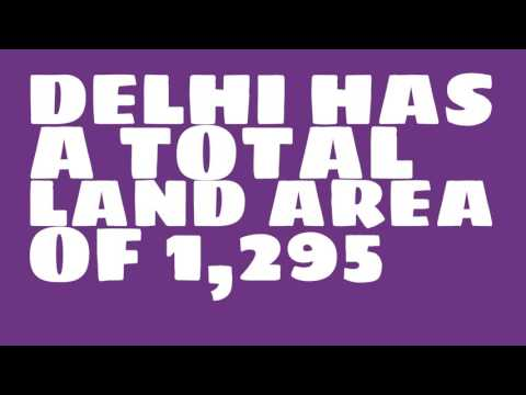 What is the population of Delhi?