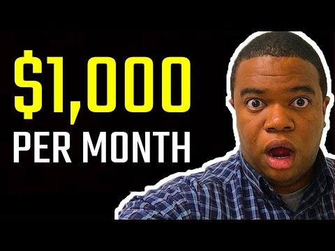 5 Passive Income Ideas (make $1,000/mo)