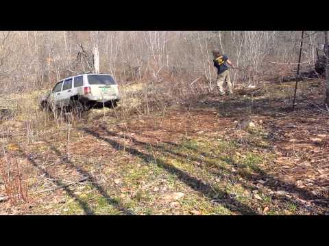 Jeep stuck woodstock vt