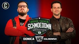 Innergeekdom Tournament! Mark Donica VS Mike Kalinowski - Movie Trivia Schmoedown