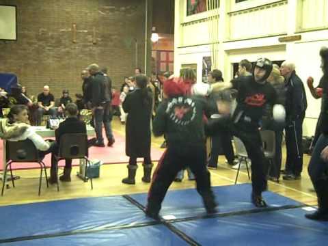 London Warriors, DDay 13th Dec Radek giving it some