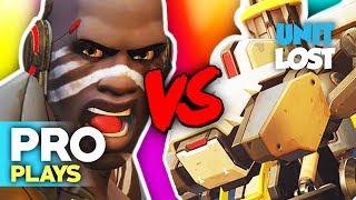 Overwatch - Pro Bastion Vs Pro Doomfist! [PRO PLAYS]