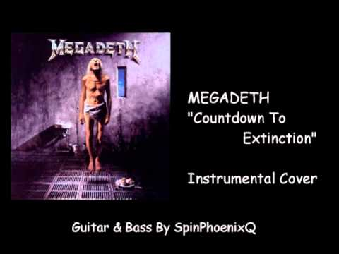 MEGADETH - Countdown To Extinction - Instrumental Cover