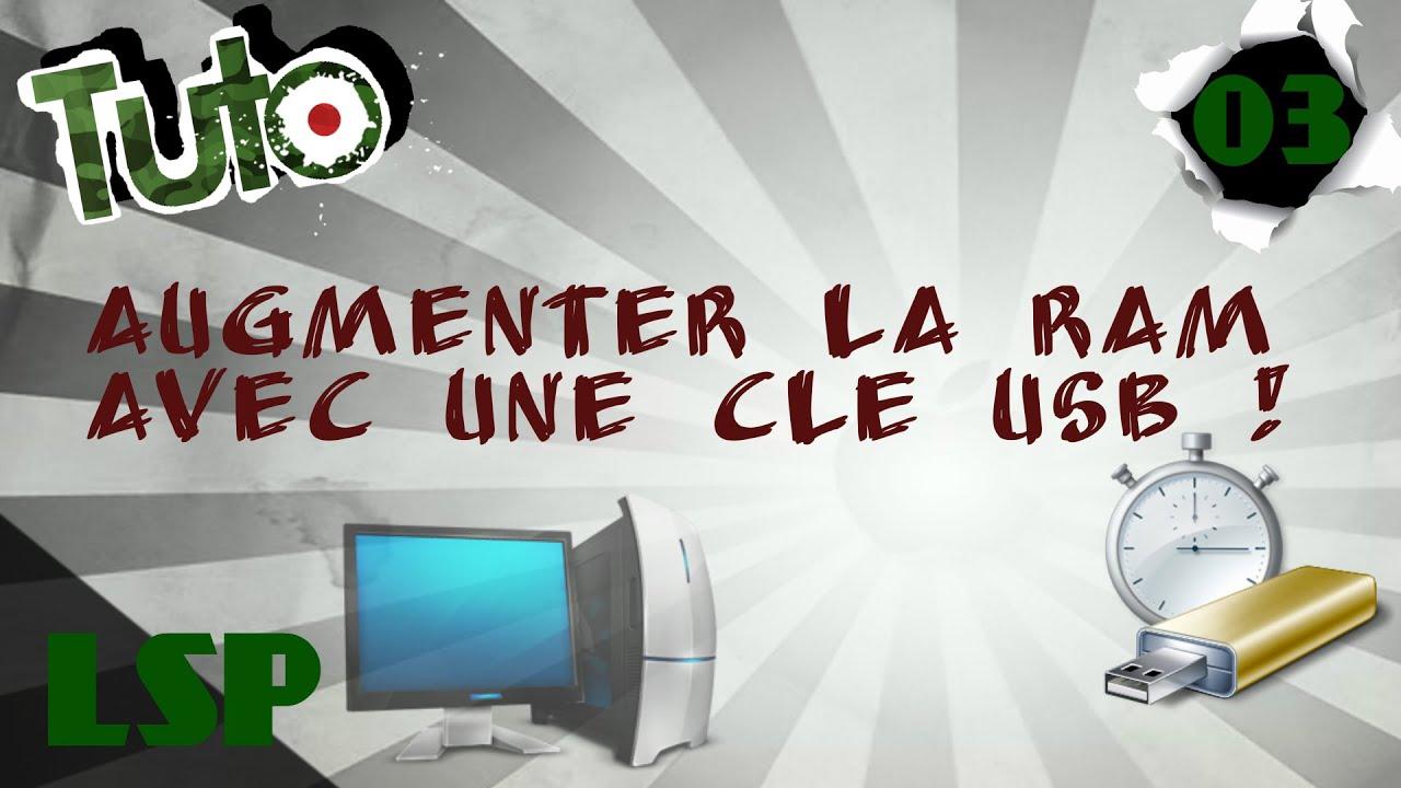 Download [TUTO] Augmenter la RAM de son PC | ReadyBoost | 4 Go gagnés !