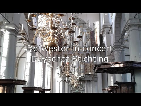 LIVE - Grand Organ Recital Matthias Havinga & Evan Bogerd - Westerkerk Amsterdam