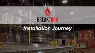 Automated Storage/Retrieval Installation At Breakthru Beverage Group