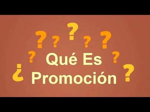 ¿Qué es Promoción? de YouTube · Duración:  8 minutos 52 segundos  · Más de 88.000 vistas · cargado el 19.04.2015 · cargado por MarketingIntensivo.com