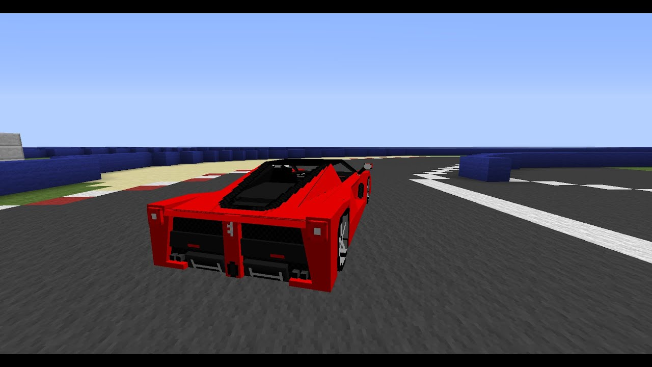 Minecraft Sports Cars Mod