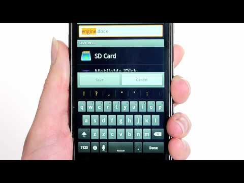 Quickoffice® Pro for Android Smartphones Demo