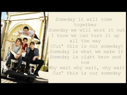 Big Time Rush - This Is Our Someday (lyrics)