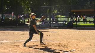 Amanda Baker Softball Skills Video