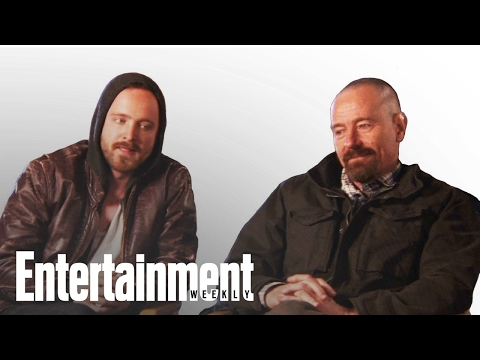 Breaking Bad: Bryan Cranston & Aaron Paul Talk Series Ending | Entertainment Weekly