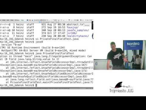 Heinz Kabutz - Dirty Hacks With Java Reflection - Trójmiasto JUG [17.10.2016]