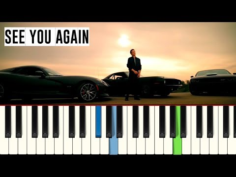 💎Wiz Khalifa - See You Again - Piano tutorial - Master Teclas💎