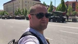 Репетиция парада Победы в Грозном 02-05-2018