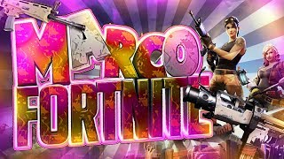 MARCO 2.0 TEMPLATE FORTNITE + FUENTE DE LETRAS DE FORTNITE || Ixodus