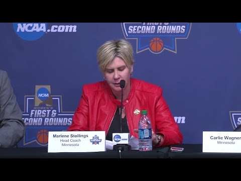 Press Conference: Gopher Women's Basketball on NCAA Tournament Loss