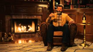 Nick Offerman's 'Yule Log'(Enjoy 45 minutes of uninterrupted Lagavulin™ Single Malt Scotch Whisky-drinking bliss with Nick Offerman by the Yule Log Fireplace… and you don't even ..., 2015-12-02T12:22:53.000Z)