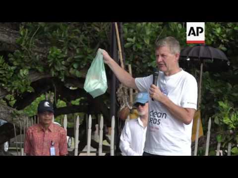 """UN launches """"Clean Seas"""" campaign in Bali"""