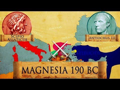 Battle of Magnesia 190 BC Roman - Seleucid Syrian War DOCUMENTARY