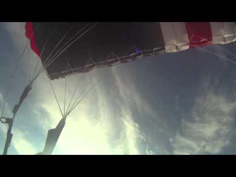 Skærmflyvning stauning