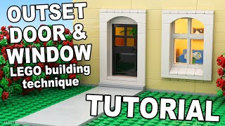 LEGO Outset Door And Window How To Tutorial