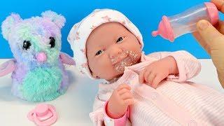 видео: Маленькая Неприятность Диана Срыгнула #Куклы Пупсики Беби Элаив Игрушки Для девочек