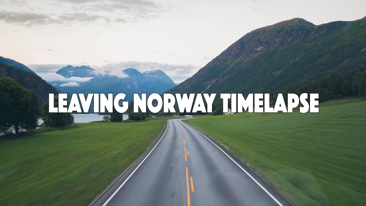 Leaving Norway Time-lapse