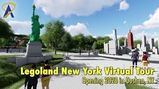 Virtual Tour of Legoland New York coming in 2020