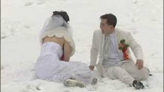 A Funny Chinese Love Walk On Wedding Day - Chinese Wedding Videographers Toronto NYC