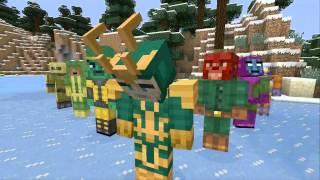 Minecraft - 'Мстители'