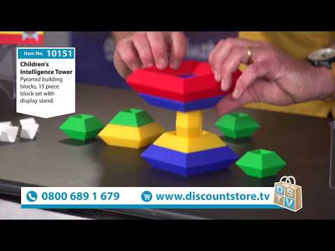 Children's Intelligence Tower | Item No. 10151 | Discount Store TV