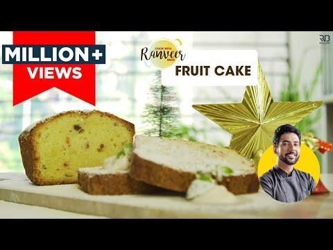 Easy Fruit Cake recipe | फ्रूट केक की आसान रेसिपी | Christmas Special | Chef Ranveer Brar