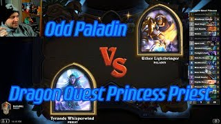 Dragon Quest Princess Priest vs Odd Paladin - Hearthstone