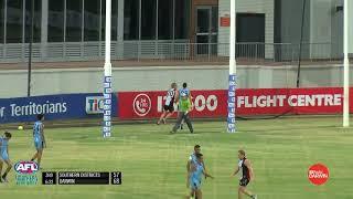 2018/19 NTFL Play of the Round - Round 12 - Jess Koopman (Southern Districts FC)