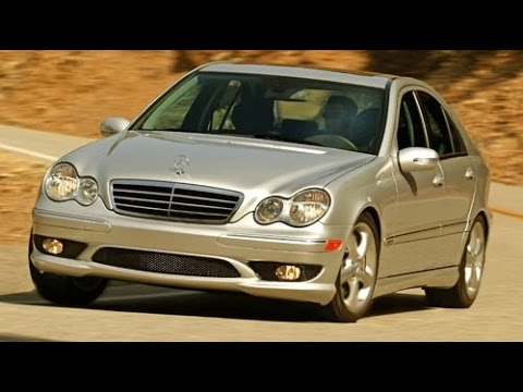 2005 Mercedes Benz C Class C230 Start Up, Road Test, U0026 Review 1.8 L  Supercharged 4 Cylinder   YouTube