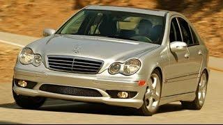 Zapętlaj 2005 Mercedes-Benz C Class C230 Start Up, Road Test, & Review 1.8 L Supercharged 4-Cylinder | Camerons Car Reviews