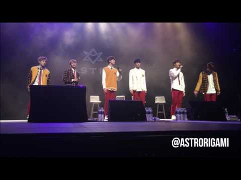 170305 ASTRO (아스트로) in Singapore - 告白气球 (Jay Chou's Confession Balloons) Cover