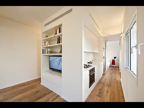 40 Square Meter Apartment In Tel Aviv Displaying An Original Layout Tel Aviv Hd Youtube
