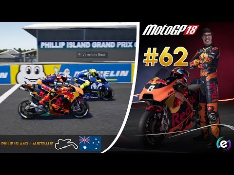 MotoGP 18 Carrière #62 - ENCORE UNE COURSE DE FOLIE !