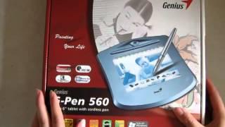 Обзор на планшет Genius g-pen 560(Поговорим немного о планшетах:)В этом видео я дам полезные советы,показав и рассказав о плюсах,минусах и..., 2012-08-05T06:41:46.000Z)