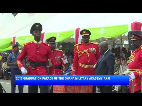 2017 GRADUATION PARADE OF THE GHANA MILITARY ACADEMY_AKM