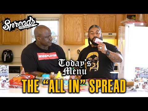 """Learn how to make the """"ALL IN"""" Spread - Spreads 2.8"""