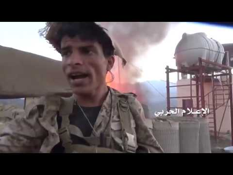Yemen Army attacking Saudi border positions at Malzoz, Jizan