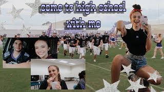 a high school day in my life + football game    senior year screenshot 5