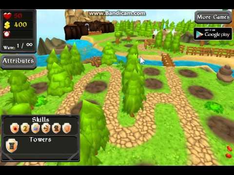 Обзор игры защита башен №2